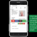 Zobrazenie ďalších dostupných funkcií použitého zariadenia (lokalizácia, tel. hovor a ďalšie)